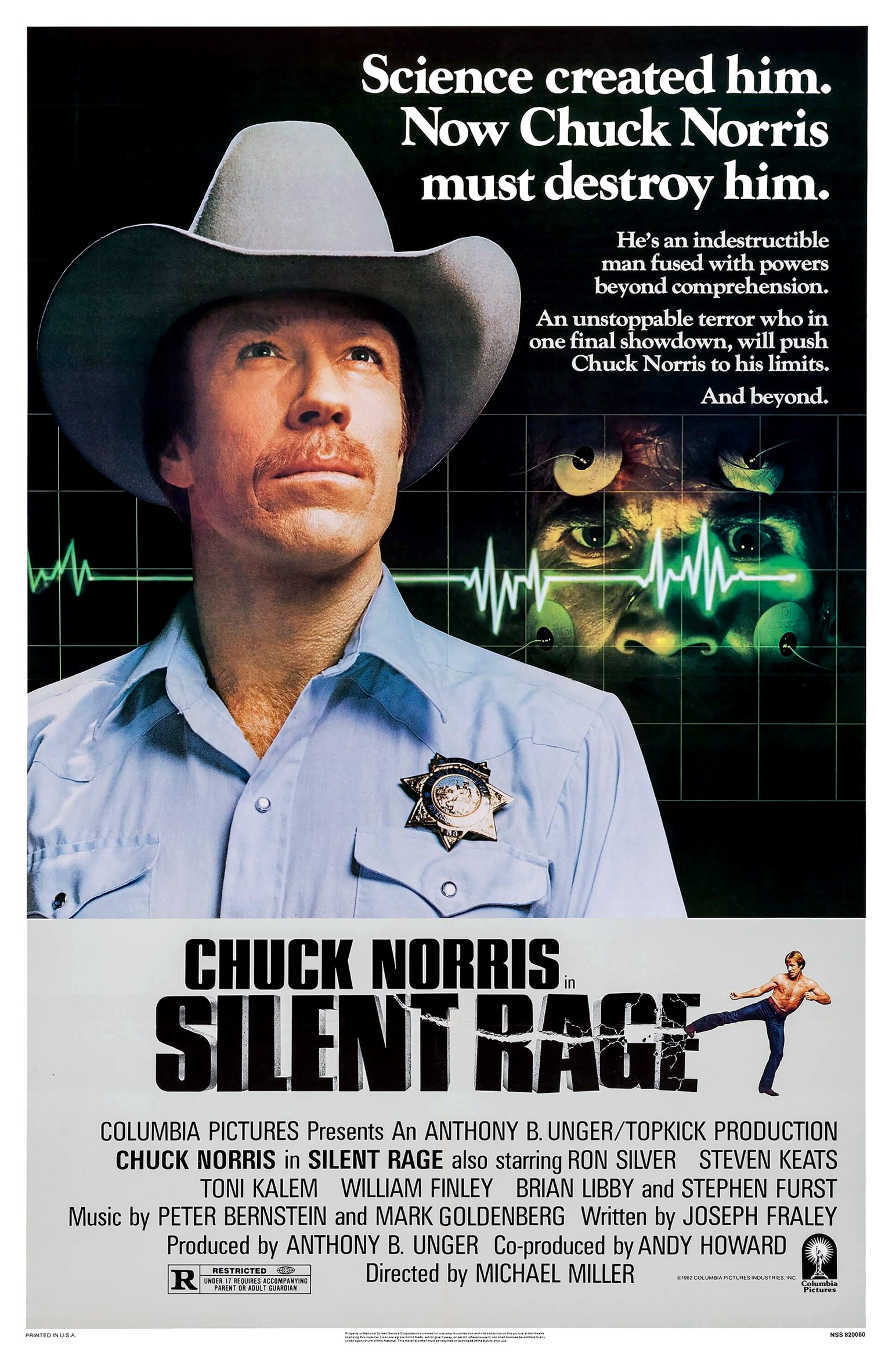 Movie Review: Silent Rage (1982) - YouTube